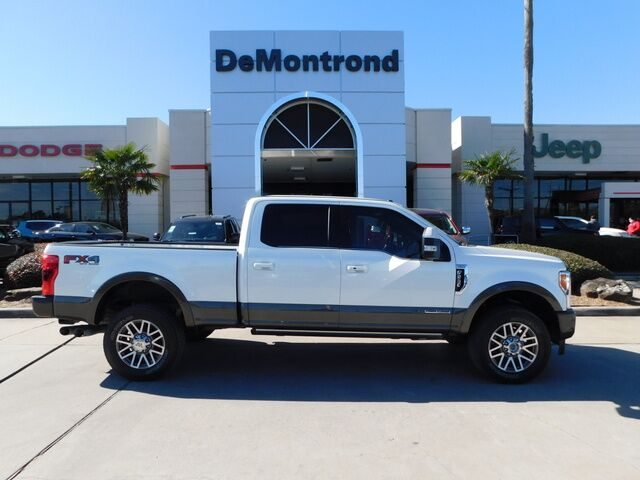 2017 Ford Super Duty F-250 SRW 4WD Crew Cab Box Conroe TX