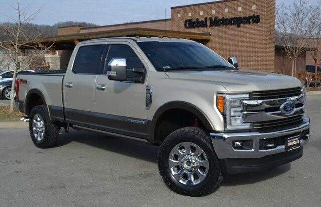 2017 Ford Super Duty F-250 SRW King Ranch/FX4 4X4/5th Wheel/Panoramic Roof/Pwr Running Boards/Nav/Rear Cam/New BF Goodrich KO2's/Loaded Nashville TN