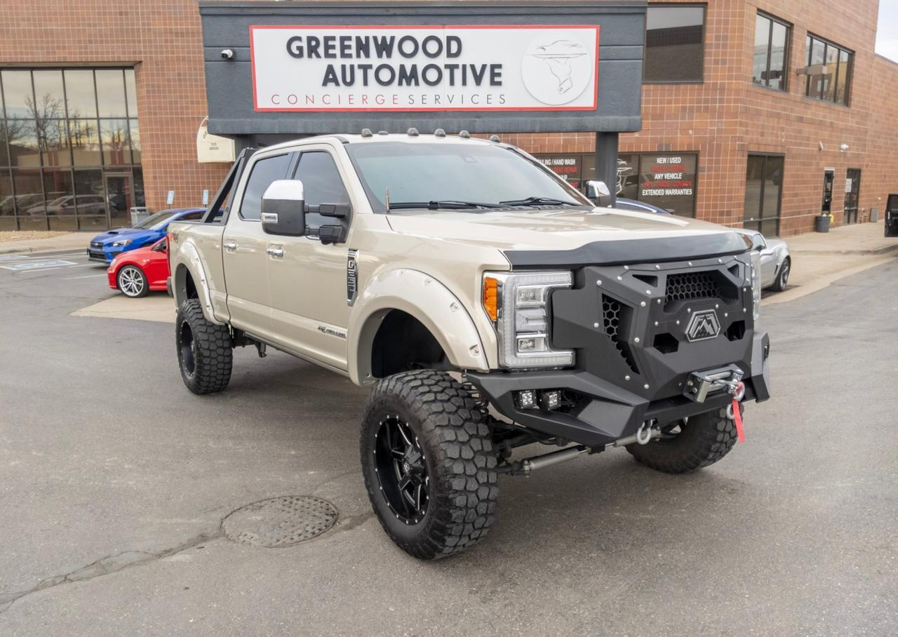 2017 Ford Super Duty F-250 SRW Platinum Greenwood Village CO