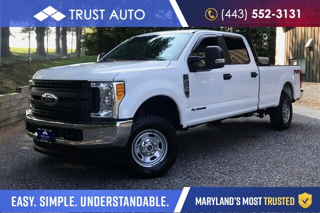 2017 Ford Super Duty F-250 SRW XL 4WD Crew Cab FX4 8.2FT Long Bed 6.7L V8 Power Stroke Turbo Diesel Pickup Truck Sykesville MD