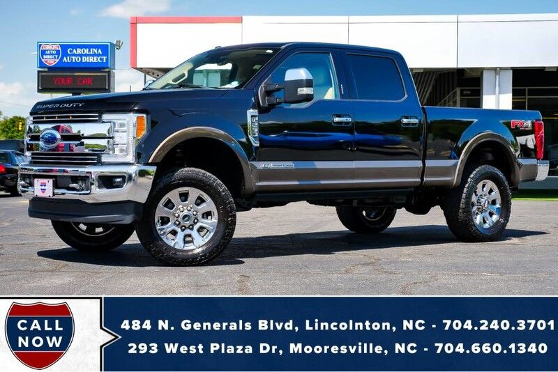 2017 Ford Super Duty F-250 WB Lariat FX4 *LIFTED* w/ Power Running Boards Mooresville NC