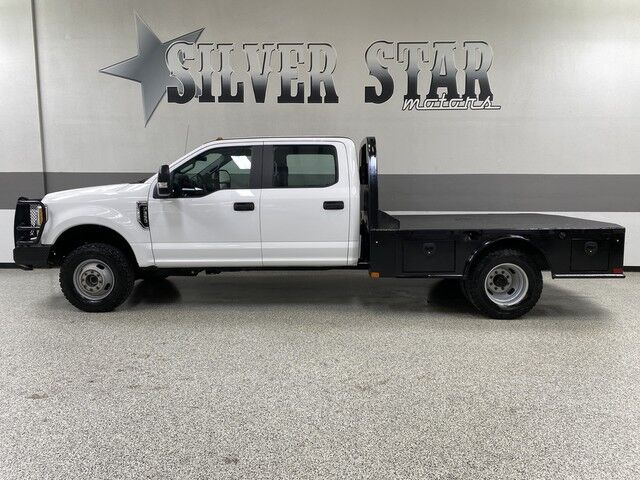 2017 Ford Super Duty F-350 DRW XL 4WD 6.2L-V8 FlatBed Dallas TX