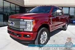 2017_Ford_Super Duty F-350_Platinum / Ultimate Pkg / FX4 Off-Rd / 6.7L Turbo Diesel / 4X4 / Auto Start / Heated Leather Seats & Steering Wheel / Navigation / Sony / Panoramic Sunroof / Adaptive Cruise / Lane Departure & Blind Spot / Tow Pkg_ Anchorage AK