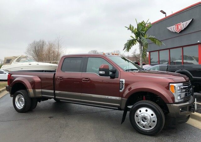 2017 Ford Super Duty F-450 DRW King Ranch 1 owner
