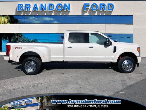 2017 Ford Super Duty F-450 DRW Platinum Tampa FL