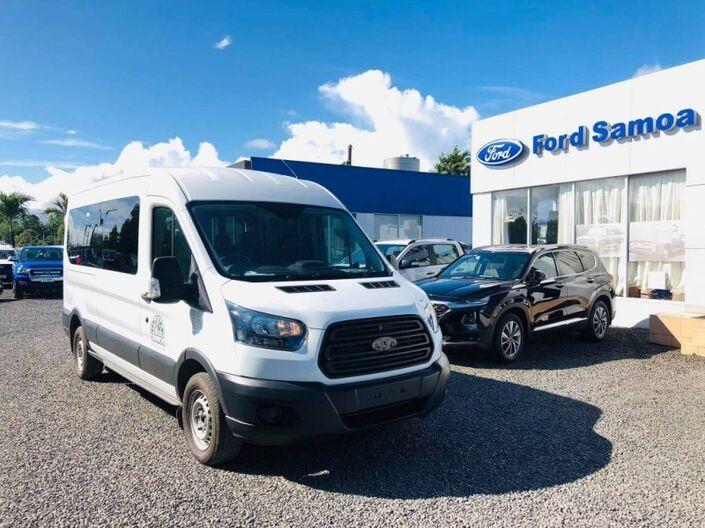 2017 Ford TRANSIT 410L 15 SEATER 2.2L TURBO DIESEL 2WD 6-SPEED MANUAL TRANSMISSION 15+1 SEATER PASSENGER BUS Vaitele