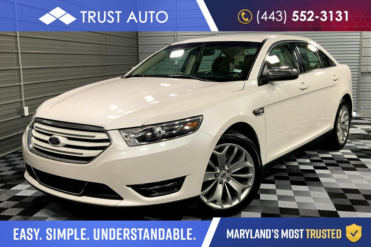 2017 Ford Taurus Limited 4-Door Sedan Sykesville MD