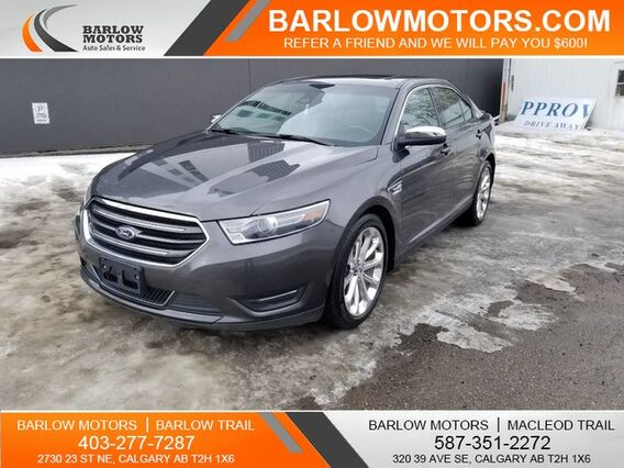 2017_Ford_Taurus_Limited AWD NAVIGATION LOW PAYMENTS_ Calgary AB