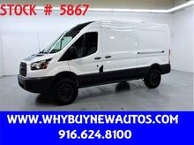 2017_Ford_Transit 150_~ Dual Sliding Side Doors ~ Medium Roof ~ Only 17K Miles!_ Rocklin CA