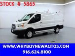 2017 Ford Transit 250 ~ Ladder Rack & Shelves ~ Only 12K Miles!