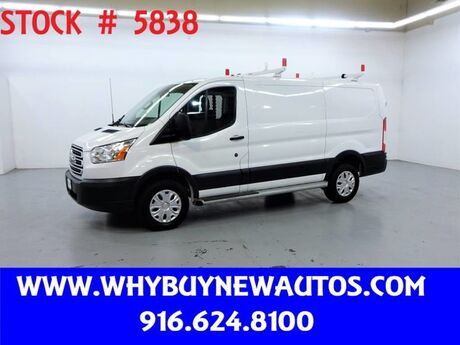 2017 Ford Transit 250 ~ Ladder Rack & Shelves ~ Only 13K Miles! Rocklin CA