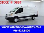 2017 Ford Transit 250 ~ Ladder Rack & Shelves ~ Only 14K Miles!