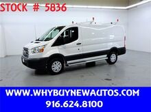 2017_Ford_Transit 250_~ Ladder Rack & Shelves ~ Only 15K Miles!_ Rocklin CA