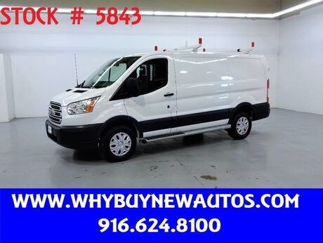 2017 Ford Transit 250 ~ Ladder Rack & Shelves ~ Only 22K Miles! Rocklin CA