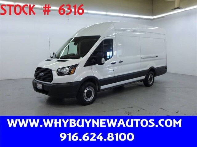 2017 Ford Transit 350 ~ Extended Length ~ High Roof ~ Dual Sliding Doors ~ Only 42K Miles! Rocklin CA