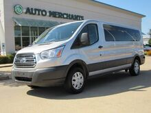 2017_Ford_Transit_350 Wagon Low Roof XLT w/Sliding Pass. 148-in. WB, 15 PASSENGER+CARGO, BLUETOOTH, BACKUP CAMERA_ Plano TX