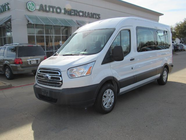 2017 Ford Transit 350 Wagon Med. Roof XLT w/Sliding Pass. 148-in. WB Plano TX