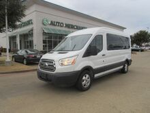 2017_Ford_Transit_350 Wagon Med. Roof XLT w/Sliding Pass. 148-in. WB*15 PASSENGER,BACK UP CAMERA,UNDER FACTORY WRRANTY_ Plano TX