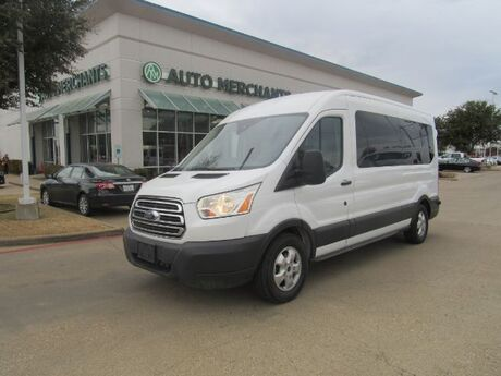 2017 Ford Transit 350 Wagon Med. Roof XLT w/Sliding Pass. 148-in. WB*15 PASSENGER,BACK UP CAMERA,UNDER FACTORY WRRANTY Plano TX