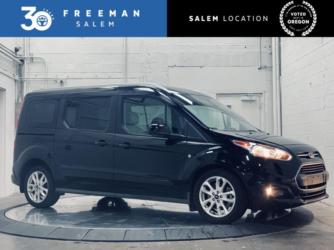 2017 Ford Transit Connect Wagon Titanium 6 Passenger Great Fuel Economy Salem OR