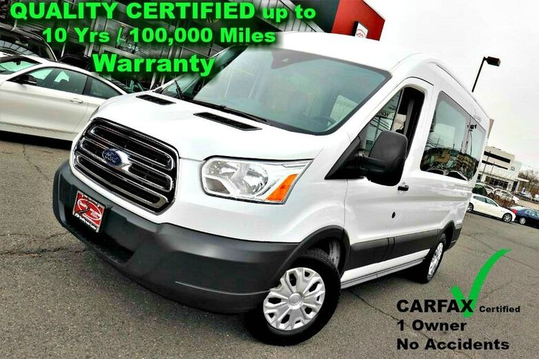 2017 Ford Transit Wagon XLT - 10 Passenger Seating - CARFAX Certified 1 Owner No Acciden Springfield NJ