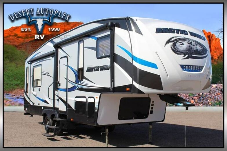 2017 Forest River Cherokee Arctic Wolf 285DRL4 Limited Triple Slide 5th Wheel RV Mesa AZ