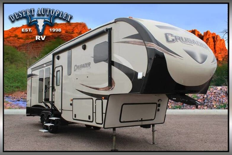 2017 Forest River Crusader 319RKT Triple Slide 5th Wheel RV Mesa AZ