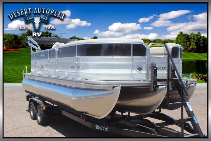 2017 Forest River Marine Trifecta 22C 2.75 Pontoon Boat Mesa AZ