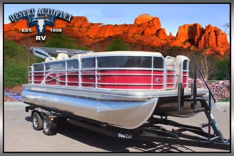 2017 Forest River Marine Trifecta 22RFC 2 Pontoon Boat Mesa AZ