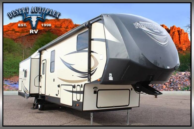 2017 Forest River Salem Hemisphere Lite 368RLBHK Quad Slide 5th Wheel RV Mesa AZ