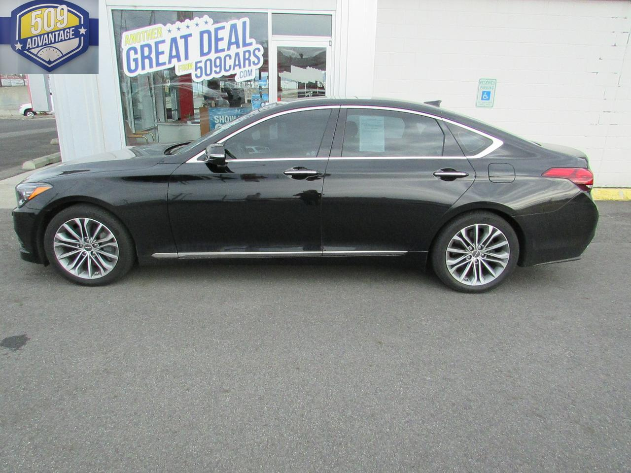 2017 GENESIS G80 PREMIUM ULTIMATE 3.8L Spokane Valley WA