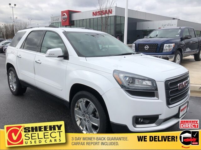 2017 GMC Acadia Limited Limited White Marsh MD
