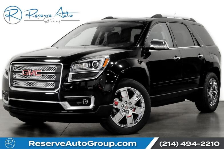 2017 GMC Acadia Limited Limited Captains Rear DVD PanoRoof OneOwner The Colony TX