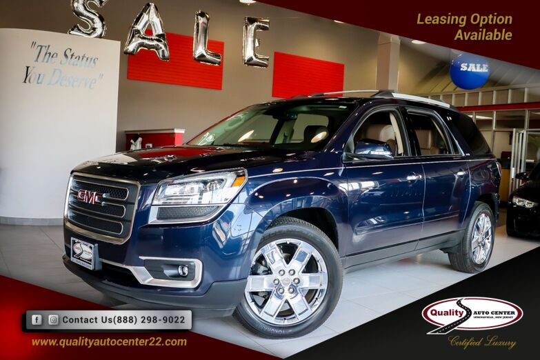 2017 GMC Acadia Limited Limited Entertainment System, Dual Sunroof 1-Owner Springfield NJ