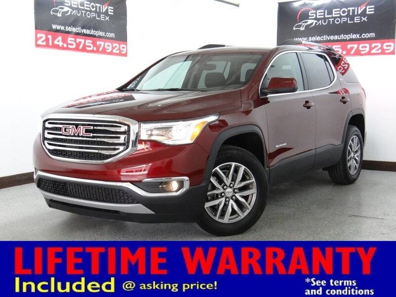 2017 GMC Acadia SLE FWD, REMOTE START, REAR VIEW CAM, 3RD ROW SEATS Carrollton TX