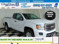 GMC Canyon * Extended Cab 4x4 * Convenience Pkg * 2017