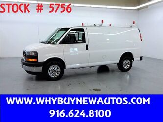 GMC Savana 2500 ~ Ladder Rack & Shelves ~ Only 7K Miles! 2017