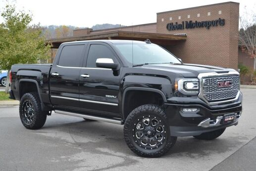 2017 GMC Sierra 1500 Denali/4X4/Local 1 Owner Vehicle/Must See/Like New/ProComp 4 Lift/35'' Nitto Ridge Grappler Tires/Fuel Wheels/Foldable Bed Cover/6.2L/Rear DVD/Sunroof/Heated Steering Wheel/Power Retractable Running Boards Nashville TN