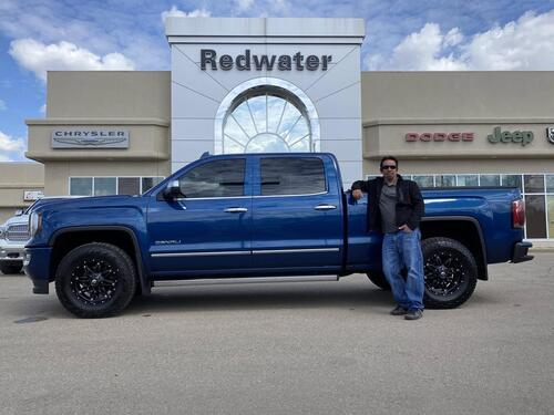 2017_GMC_Sierra 1500_Denali Crew - 4X4 -  6.2L V8 Rare - Sunroof - Leather - One Owner_ Redwater AB