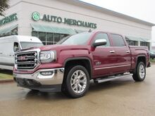 2017_GMC_Sierra 1500_SLT Crew Cab Short Box 2WD*BACK UP CAMERA,NAVIGATION,PREMIUM STEREO,UNDER FACTORY WARRANTY!_ Plano TX