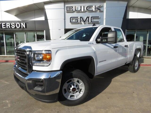 2017 GMC Sierra 2500HD DOUBLE CAB 4WD 144.2 Wichita Falls TX