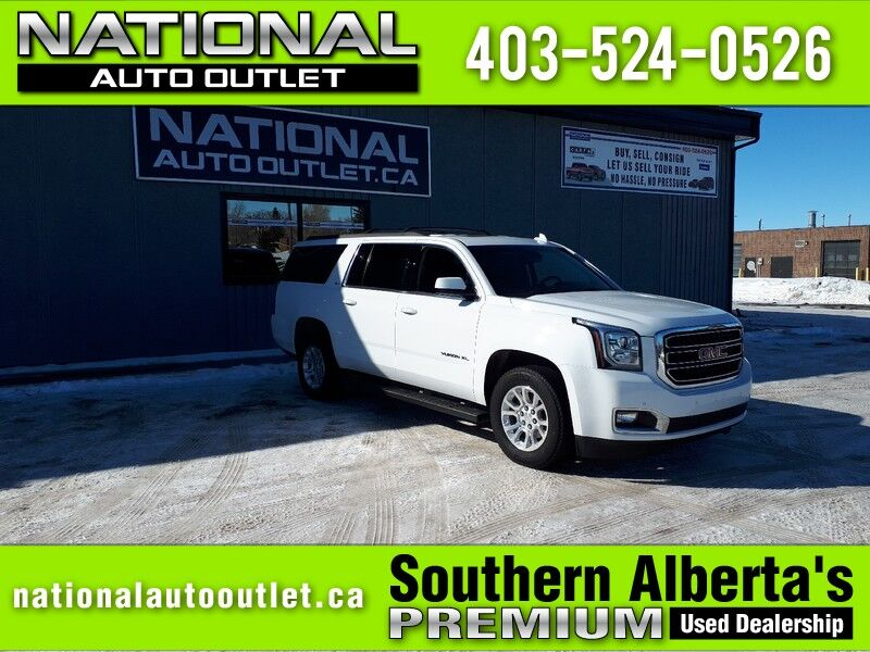 2017 GMC Yukon XL - APPLE ANDROID CAR PLAY - 2 DVD PLAYERS- HEATED LEATHER FRONT AND BACK SLT Lethbridge AB