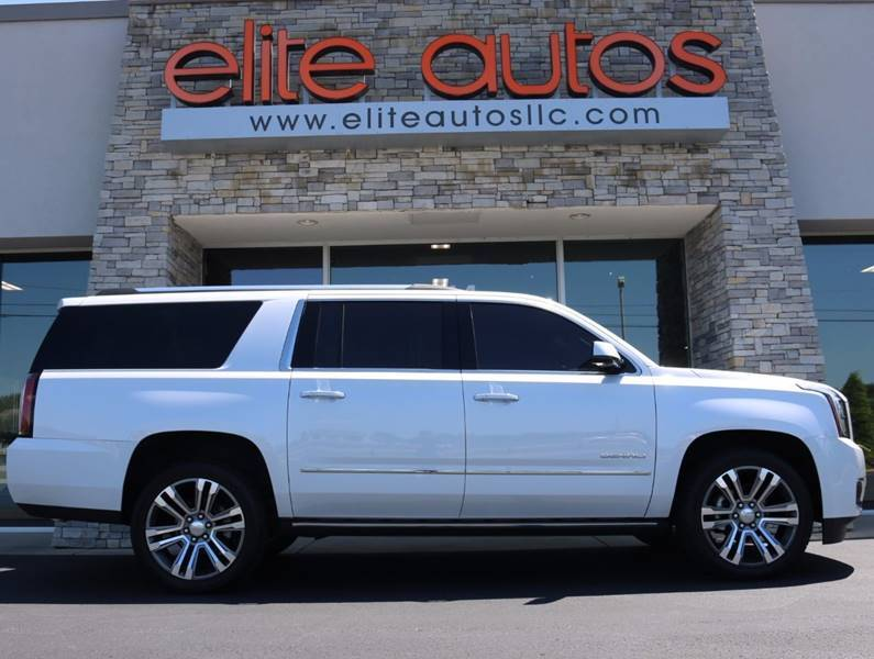 2017 gmc yukon xl denali 4x4 4dr suv jonesboro ar 21410179. Black Bedroom Furniture Sets. Home Design Ideas