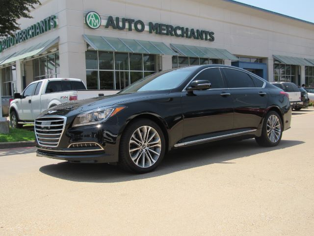 2017 Genesis G80 3.8 NAV, BLIND SPOT, LANE DEPART, BLUETOOTH, HTD SEATS, BACKUP CAM, PUSH BUTTON, AUX/USB, SAT RADIO Plano TX