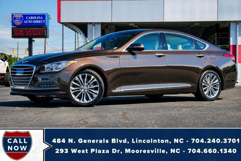 2017 Genesis G80 3.8L AWD w/ Head-Up Display + Heated & Vented Front Seats Mooresville NC