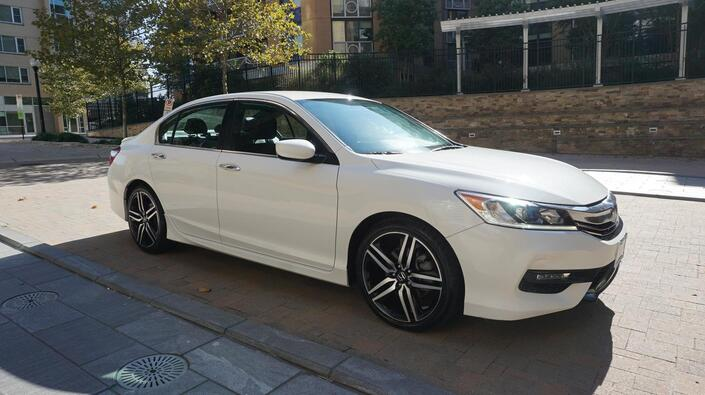2017 HONDA ACCORD SPORT SE Arlington VA
