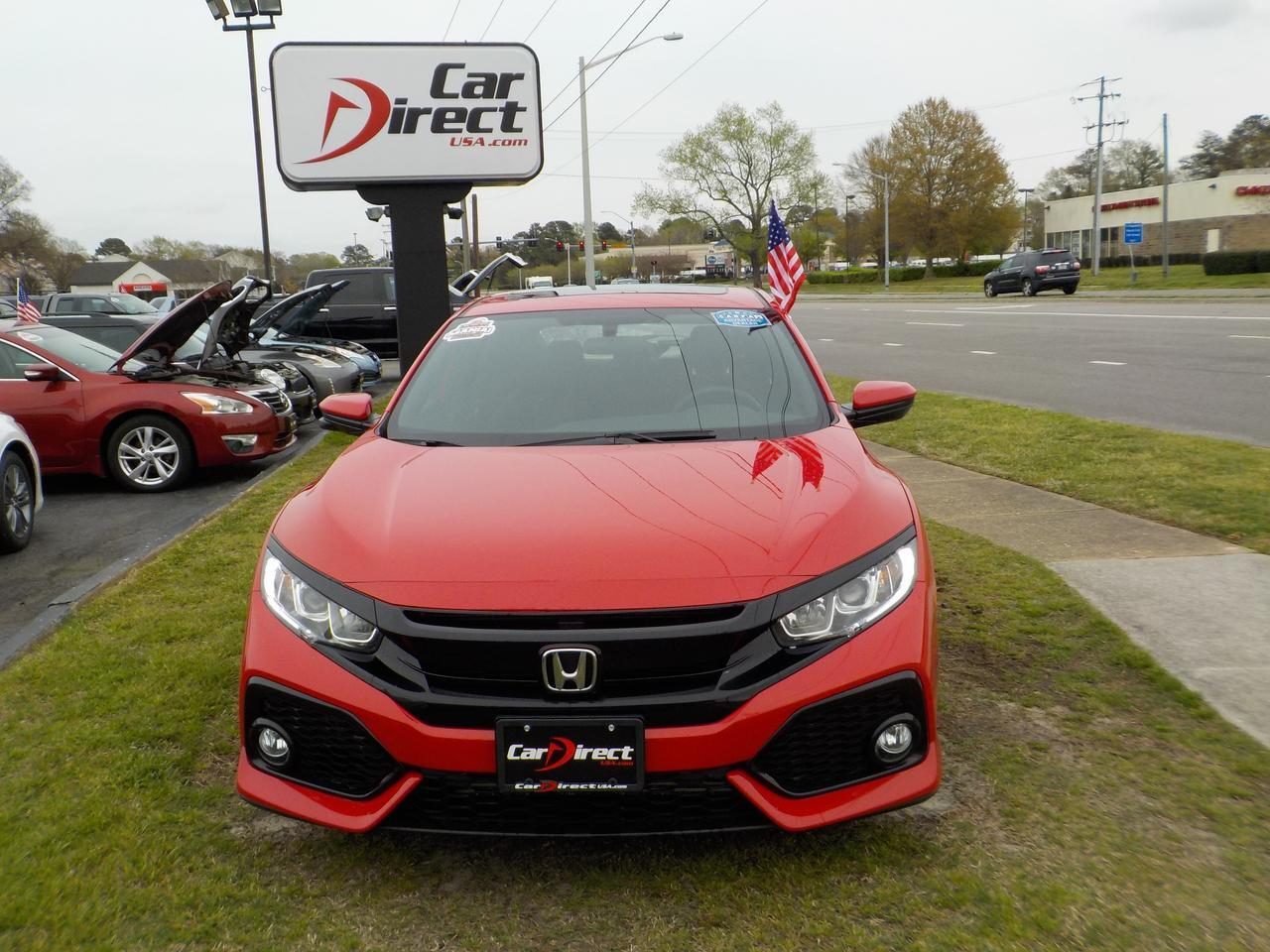 2017 HONDA CIVIC EX, WARRANTY, CARFAX ONE OWNER & LOW MILEAGE, REMOTE START, BACKUP CAMERA, BLUETOOTH, BACKUP CAMERA! Virginia Beach VA