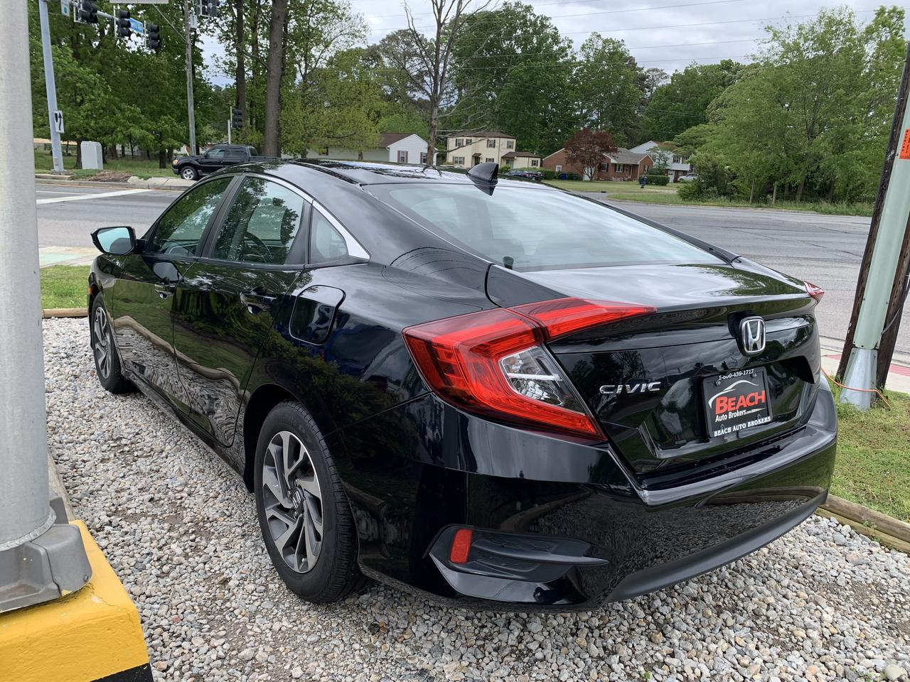 2017 HONDA CIVIC EX, WARRANTY, NAV, BACKUP CAM, PARKING SENSORS, REMOTE START, SUNROOF, 1 OWNER! Norfolk VA