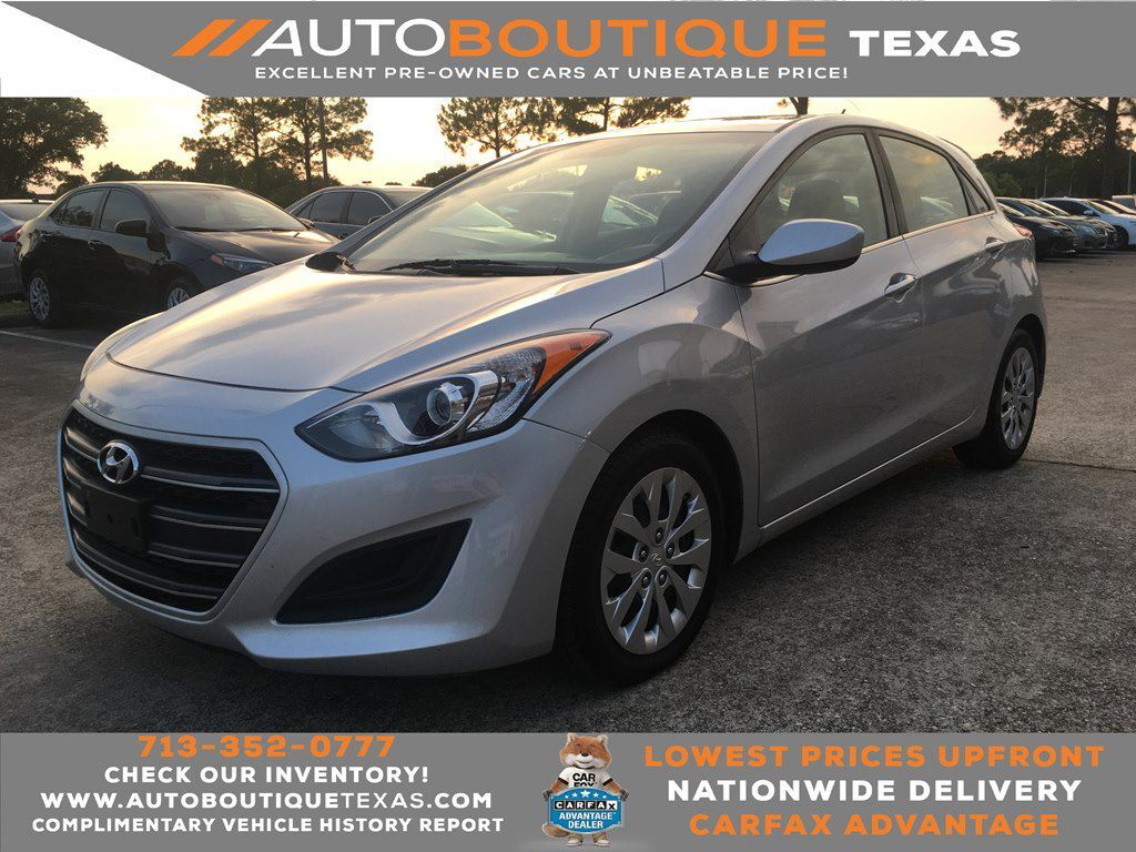 2017 HYUNDAI ELANTRA GT Houston TX