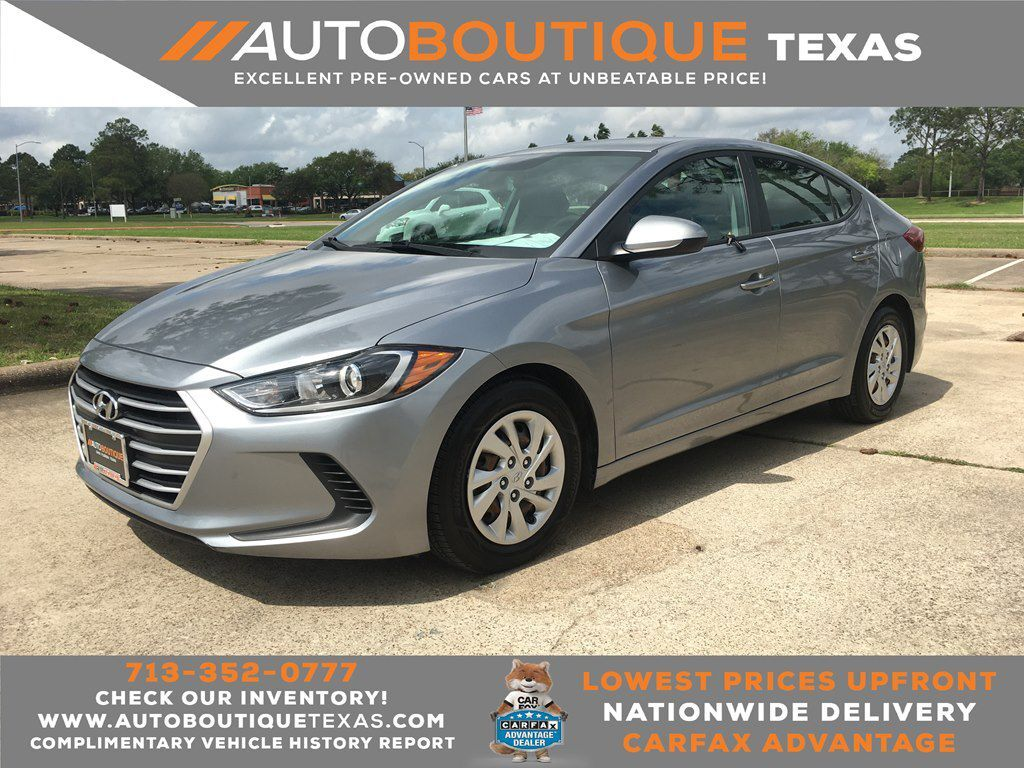 2017 HYUNDAI ELANTRA SE SE Houston TX